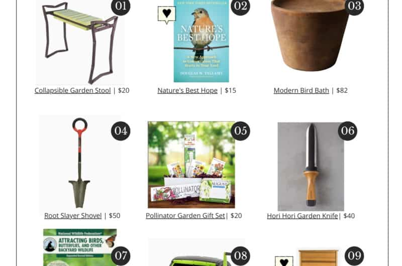 Native Plant Lovers Gift Guide