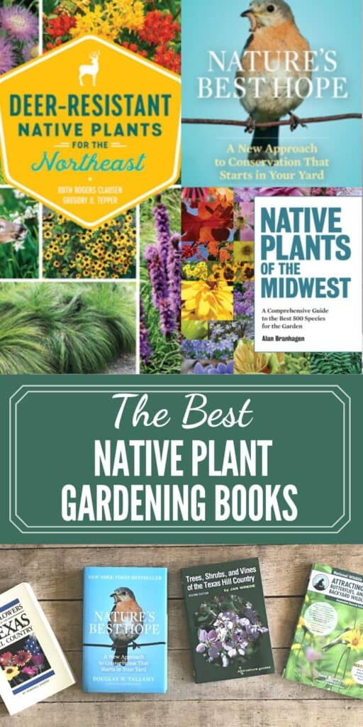 The best native plant gardening books by state and region.