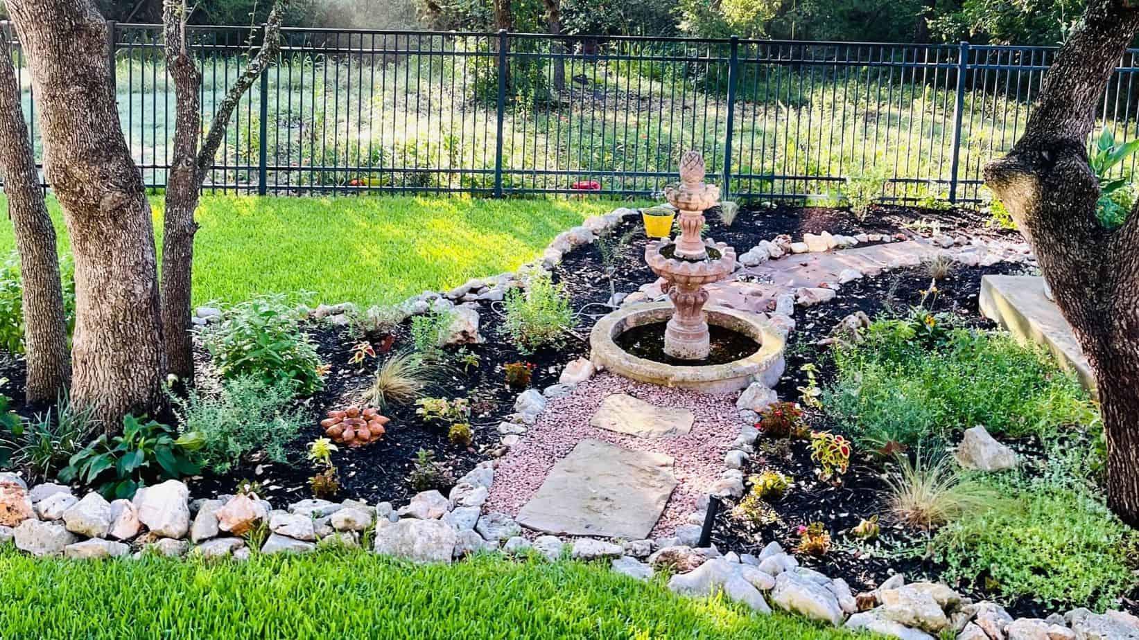 Native Backyards garden in San Antonio, TX